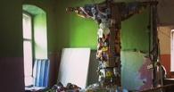 Омскую епархию возмутила статуя Иисуса, сделанная из мусора