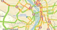 В Омске два ДТП перекрыли улицу Красный Путь