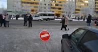 В Омске в день эстафеты Олимпийского огня пробки были лишь в Нефтяниках