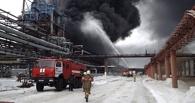 Спустя неделю в Омске смогли потушить завод СК