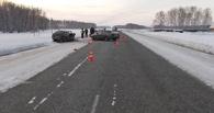 На трассе Омск-Муромцево произошла очередная авария