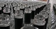 В Омске изъяли 10 тысяч бутылок фальшивого алкоголя, продаваемого под видом водки премиум-класса