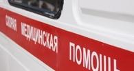 В Омске автобус №69 сбил человека и врезался в «Газель»