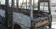 В Омске сгорел автобус №26