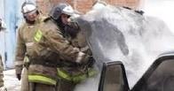 У омича из-за подогрева сидений дотла сгорел ВАЗ