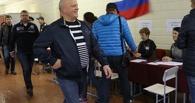 Виктор Назаров позже других кандидатов в губернаторы посетил избирательный участок