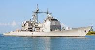 Во время учений ВВС США беспилотник врезался в крейсер
