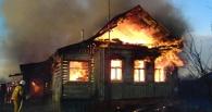 В Омской области в огне погибли мужчина и пятилетняя девочка