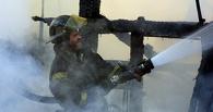 В Омской области сгорел сельский клуб