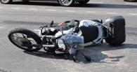 В центре Омска снова ДТП с мотоциклом – пострадал ребенок