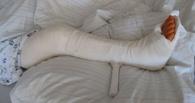 В Омской области мужчина, собравшийся к любовнице, сломал жене ногу
