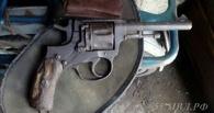 В Омске задержали пенсионера, хранившего дома револьвер времен ВОВ