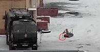 Омичка стала свидетельницей обезвреживания бомбы