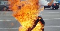 В Омской области заживо сжёг себя бывший милиционер