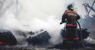 В Омской области три человека сгорели в частном доме