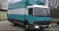 В Омском районе грузовик Mercedes сбил ребенка и скрылся с места ДТП