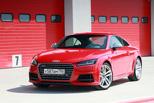 Непорядочная связь: листаем закаты, целуем рассветы с Audi TTS