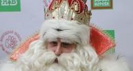 Дед Мороз в Омске призвал мам и пап преодолевать запреты Роскомнадзора