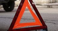 На Левом берегу Омска 82-летний пенсионер на легковушке врезался в троллейбус