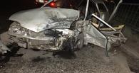 В ночном ДТП в Омске столкнулись два ВАЗа – трое человек госпитализированы