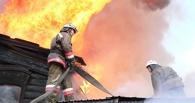 В Омском районе во время пожара в дачном доме погиб пенсионер