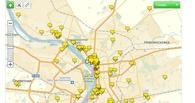 Для омичей заработала электронная карта Дня города