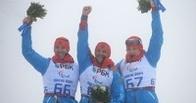 Российские биатлонисты заняли весь пьедестал в гонке на 12,5 километров