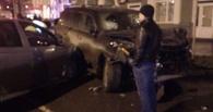 В Омске оправдали водителя Lexus, протаранившего три автомобиля