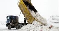 Жителям Омска дали возможность бесплатно вывезти снег на полигон