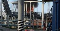 Во время пожара на омском нефтеперерабатывающем заводе пострадали два человека