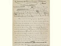 Ранее неизвестная рукопись Марка Твена продана на Sotheby`s