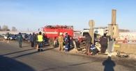 На трассе «Тюмень-Омск» в аварии погибли мать с двумя детьми