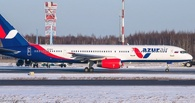 В аэропорту со взлетной полосы укатился самолет, в котором могут быть и омичи