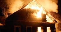 В Омске при пожаре в дачном доме погибла 7-летняя девочка