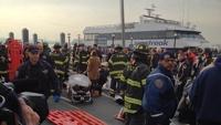 При крушении парома в Нью-Йорке пострадали 74 человека