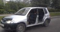 Омская полиция проводит проверку по поводу езды в авто без дверей