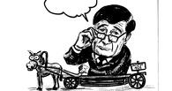 Омский пристав нарисовал карикатуры на общественный транспорт и мэра Двораковского