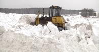 В Омске за четыре месяца выпало больше снега, чем за весь прошлый зимний сезон