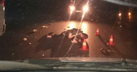 В Омске пьяный молодой водитель насмерть сбил мужчину и уехал с места аварии
