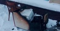 На Казачьем рынке Омска сгорел павильон с рыбой