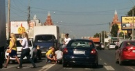 На улице Жукова в Омске сбили пешехода на переходе
