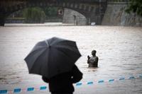 В Праге объявлен режим ЧП. Власти ждут наводнения