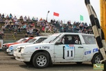 Рев моторов и клубы пыли: омичам показали автошоу «Салют. Победа!»