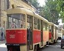 В Омске из-за сильного ливня встали трамваи