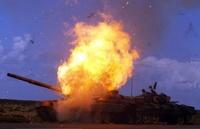 Российские военные будут тушить горящие танки гелевой накидкой