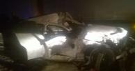 Омская полиция опубликовала подробности аварии двух фур на трассе