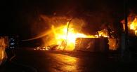 В Омской области пять часов горел частный дом