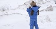 В Омской области девочка обморозила руки по дороге в детсад