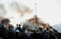 Украинская полиция начала зачистку «Майдана»