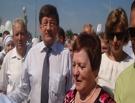 На открытии сада «Сибирь» Двораковскому подарили денежное дерево для бюджета